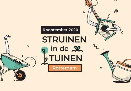 Struinen in de tuinen Rotterdam 2020